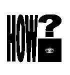 洒落た構図と図形の秘密結社のスタンプ(個別スタンプ:20)