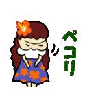 フラダンス大好きでっこちゃん1(個別スタンプ:08)