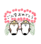 ほんわかしばいぬ<春>(個別スタンプ:8)