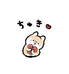 ほんわかしばいぬ<春>(個別スタンプ:36)