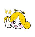 ほんわか天使ちゃん(文字なし)(個別スタンプ:1)