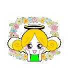 ほんわか天使ちゃん(文字なし)(個別スタンプ:6)