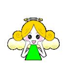 ほんわか天使ちゃん(文字なし)(個別スタンプ:8)