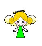 ほんわか天使ちゃん(文字なし)(個別スタンプ:10)