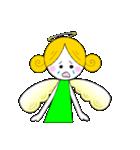 ほんわか天使ちゃん(文字なし)(個別スタンプ:16)