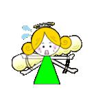 ほんわか天使ちゃん(文字なし)(個別スタンプ:18)