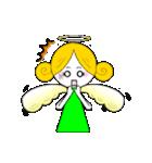 ほんわか天使ちゃん(文字なし)(個別スタンプ:19)