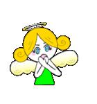 ほんわか天使ちゃん(文字なし)(個別スタンプ:26)