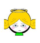 ほんわか天使ちゃん(文字なし)(個別スタンプ:27)