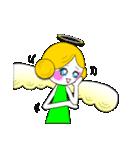ほんわか天使ちゃん(文字なし)(個別スタンプ:32)