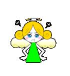 ほんわか天使ちゃん(文字なし)(個別スタンプ:38)