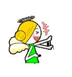ほんわか天使ちゃん(文字なし)(個別スタンプ:40)