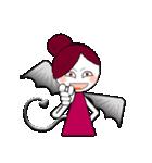 いたずら悪魔ちゃん(文字なし)(個別スタンプ:02)