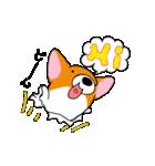 カワイイ コーギー(個別スタンプ:03)