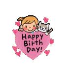 大人かわいい誕生日&お祝い(個別スタンプ:02)