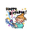 大人かわいい誕生日&お祝い(個別スタンプ:04)