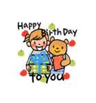 大人かわいい誕生日&お祝い(個別スタンプ:05)