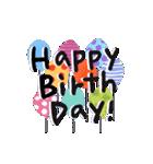 大人かわいい誕生日&お祝い(個別スタンプ:07)