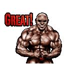 筋肉マッチョマッスルスタンプ 12(個別スタンプ:01)