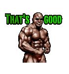 筋肉マッチョマッスルスタンプ 12(個別スタンプ:04)