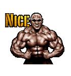 筋肉マッチョマッスルスタンプ 12(個別スタンプ:06)