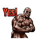 筋肉マッチョマッスルスタンプ 12(個別スタンプ:08)
