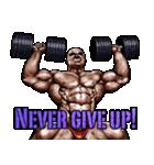 筋肉マッチョマッスルスタンプ 12(個別スタンプ:15)