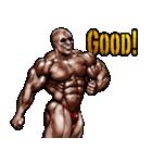 筋肉マッチョマッスルスタンプ 12(個別スタンプ:16)