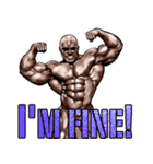筋肉マッチョマッスルスタンプ 12(個別スタンプ:18)