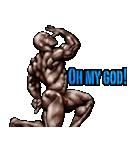 筋肉マッチョマッスルスタンプ 12(個別スタンプ:20)