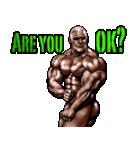筋肉マッチョマッスルスタンプ 12(個別スタンプ:21)