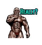 筋肉マッチョマッスルスタンプ 12(個別スタンプ:24)