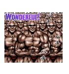 筋肉マッチョマッスルスタンプ 12(個別スタンプ:25)