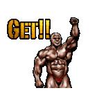 筋肉マッチョマッスルスタンプ 12(個別スタンプ:28)