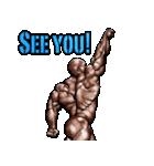 筋肉マッチョマッスルスタンプ 12(個別スタンプ:37)