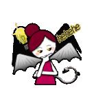 ほんわか天使&いたずら悪魔(英語ver.)(個別スタンプ:14)