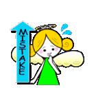 ほんわか天使&いたずら悪魔(英語ver.)(個別スタンプ:35)