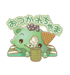 甘えんぼくまのアイスクリーム(第三弾)(個別スタンプ:13)