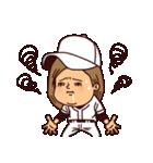 うつろめ女子・野球編(個別スタンプ:31)