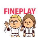 うつろめ女子・野球編(個別スタンプ:38)