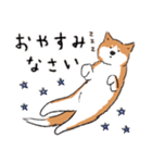 Every Day Dog 柴犬 日本語(個別スタンプ:21)