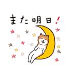 Every Day Dog 柴犬 日本語(個別スタンプ:39)