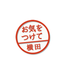 大人のはんこ(横田さん用)(個別スタンプ:24)