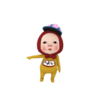 【#1】レッドタオルの【やよい】が動く!!(個別スタンプ:10)