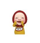 【#1】レッドタオルの【やよい】が動く!!(個別スタンプ:12)