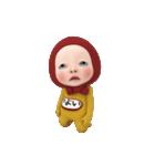 【#1】レッドタオルの【やよい】が動く!!(個別スタンプ:13)