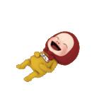 【#1】レッドタオルの【やよい】が動く!!(個別スタンプ:14)
