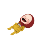 【#1】レッドタオルの【ゆか】が動く!!(個別スタンプ:14)