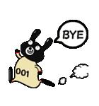 BLACK BUNNY 001 2(個別スタンプ:04)