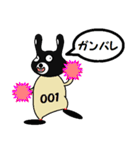 BLACK BUNNY 001 2(個別スタンプ:28)